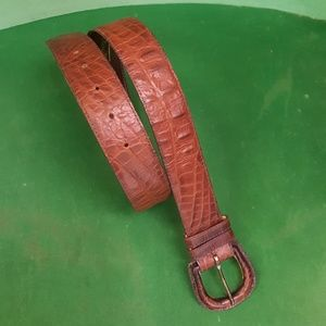 Leather Talbots Belt Small